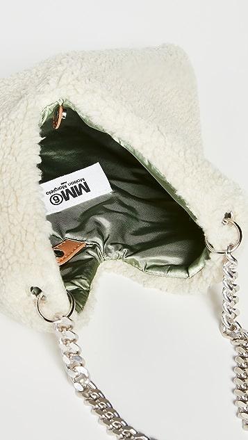MM6 Maison Margiela Triangle Tote Bag