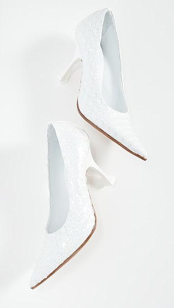 MM6 Maison Margiela 尖头浅口鞋