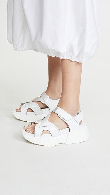 MM6 Maison Margiela Strap Sandals