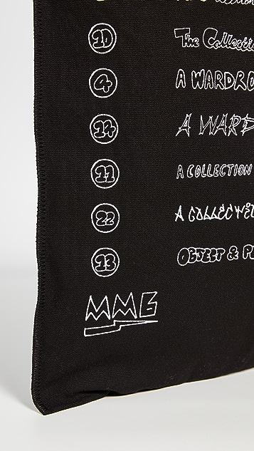 MM6 Maison Margiela 图案托特包