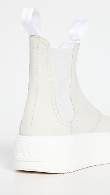 MM6 Maison Margiela Chunky Pull On Boots