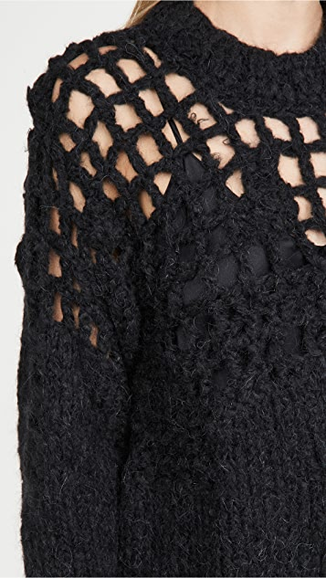 MM6 Maison Margiela Hand Knit Pullover