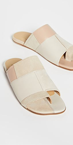 MM6 Maison Margiela - Patchwork Sandalo Slides