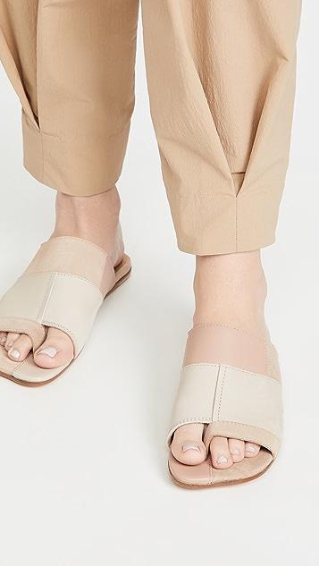 MM6 Maison Margiela Patchwork Sandalo Slides