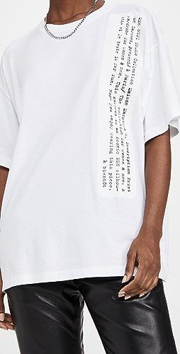 MM6 Maison Margiela - Typography T-Shirt