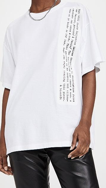 MM6 Maison Margiela Typography T-Shirt