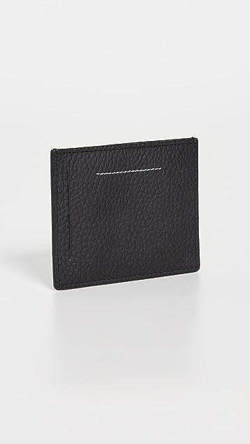 MM6 Maison Margiela Portafoglio Card Case