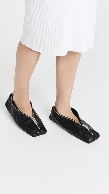 MM6 Maison Margiela Scarpa 芭蕾舞平底鞋