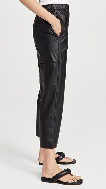 MM6 Maison Margiela 仿皮裤
