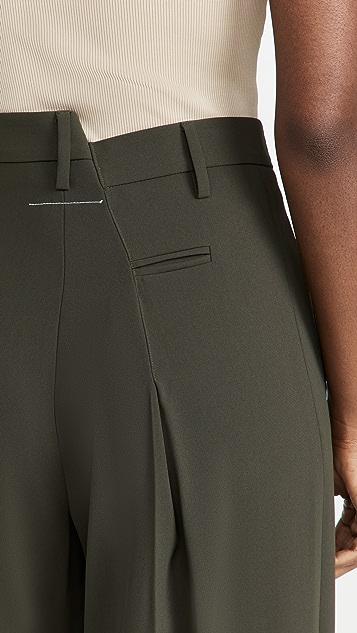 MM6 Maison Margiela Wide Leg Pants