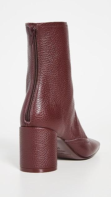 MM6 Maison Margiela Square Toe Boots