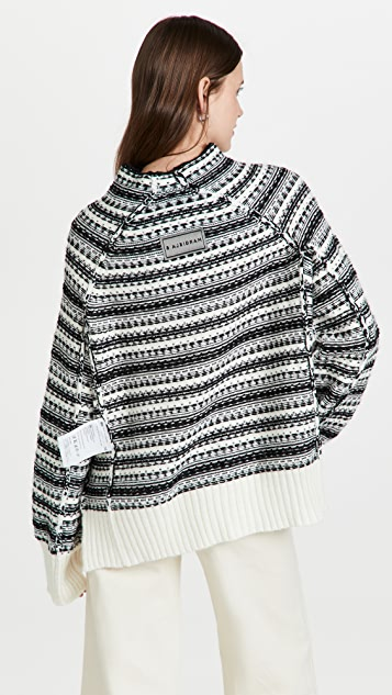 MM6 Maison Margiela 外翻式毛衣