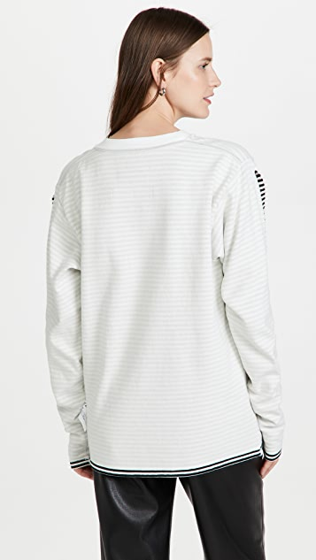 MM6 Maison Margiela Reversible Long Sleeve T-Shirt