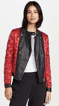 MM6 메종 마르지엘라 자켓 Maison Margiela Sports Jacket,Red/Black
