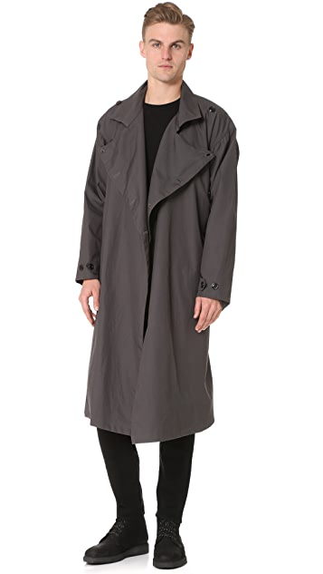 Monitaly Vancloth Lined Long Coat