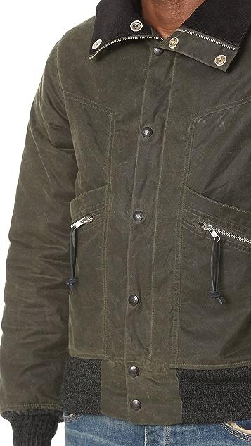Monitaly Waxed Cotton Field Jacket