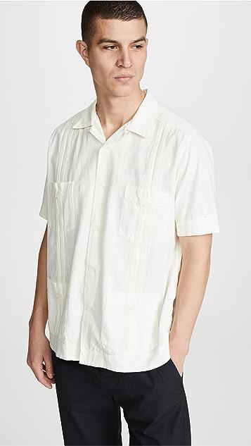 Monitaly Canul Manta Guayabera Shirt