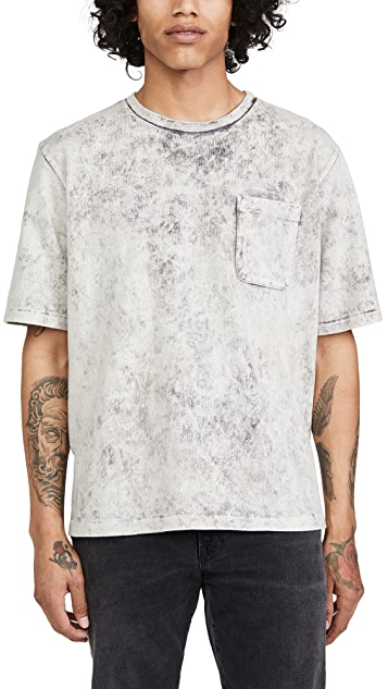 Monitaly Hand Tie Dyed Pocket T-Shirt