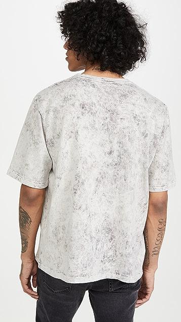 Monitaly Hand Tie Dyed Pocket T-Shirt