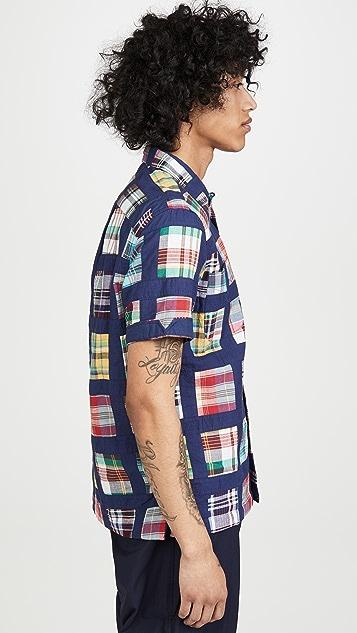 Monitaly Masai Short Sleeve Vacation Shirt