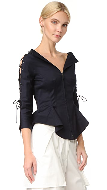 Monse Peplum Jacket