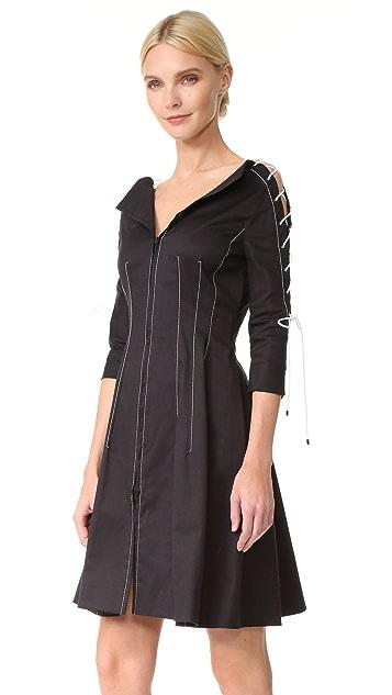 Monse V Neck Dress