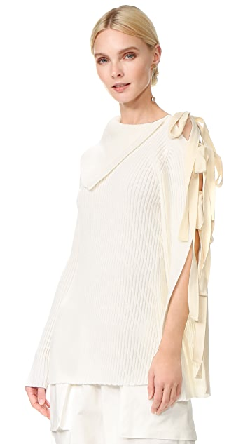 Monse Off the Shoulder Sweater