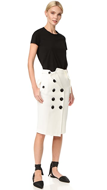 Monse Skirt with Buttons