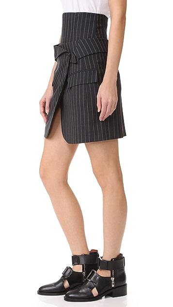 Monse Corset Skirt