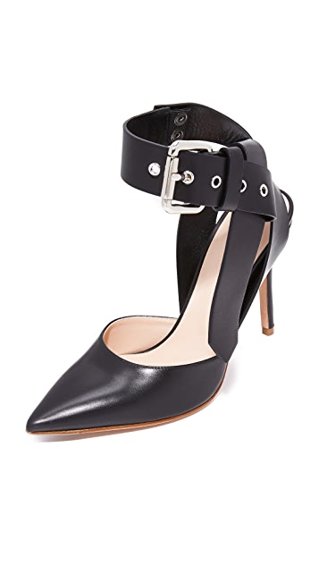 Monse Ankle Strap Pumps