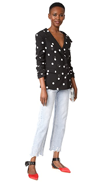 Monse Polka Dot Jacket
