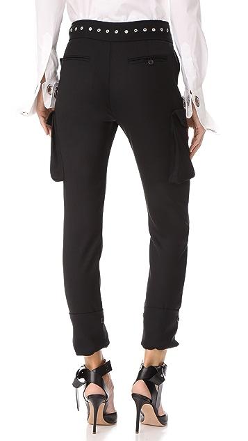 Monse Tuxedo Cargo Pants