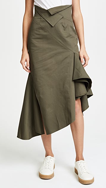 Monse Ruffle Skirt