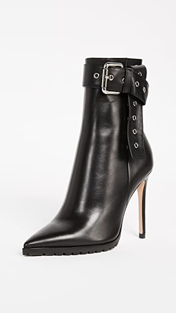 Monse Leather Booties