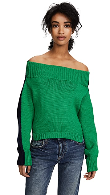 Monse Upside Down Cropped Knit