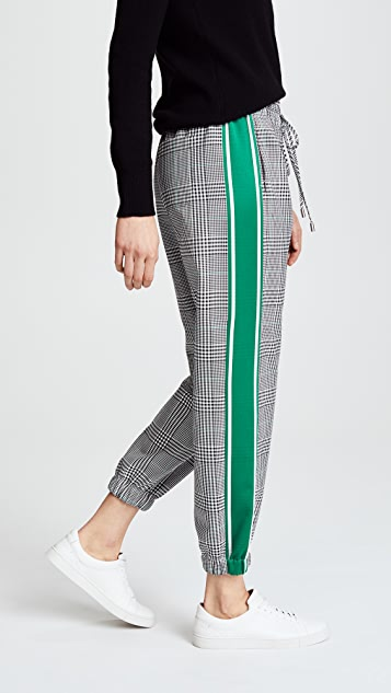 Monse Glen Plaid Jogger Pants
