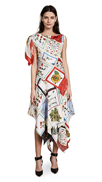 Monse Patchwork Dress