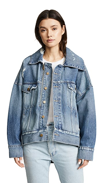 Monse Denim Cocoon Jacket