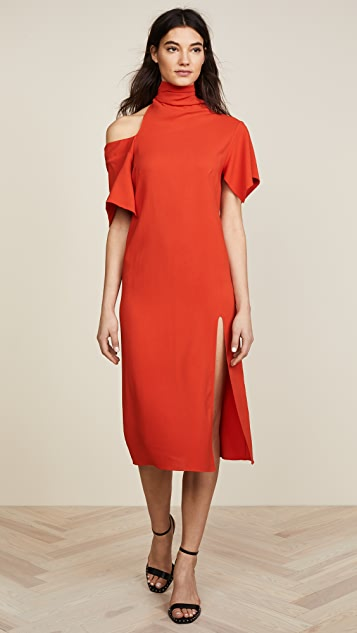 Monse Bow Collar Dress