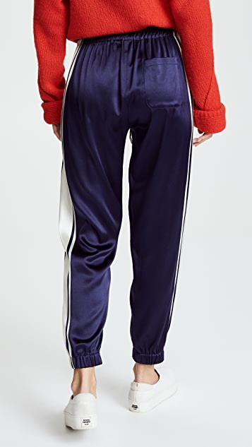 Monse Charmeuse Jogger Pants