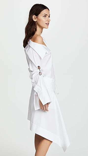 Monse Wrap Shirtdress