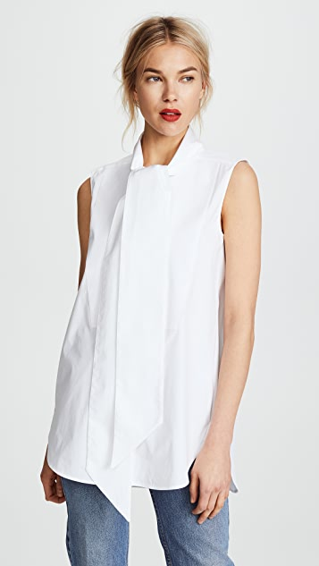 Monse Sleeveless Cotton Shirt