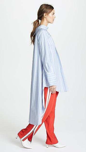 Monse Headturning Stripe Shirt
