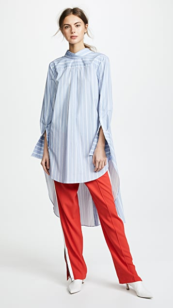Monse Headturning Stripe Shirt
