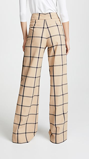 Monse Louise Side Snap Trousers