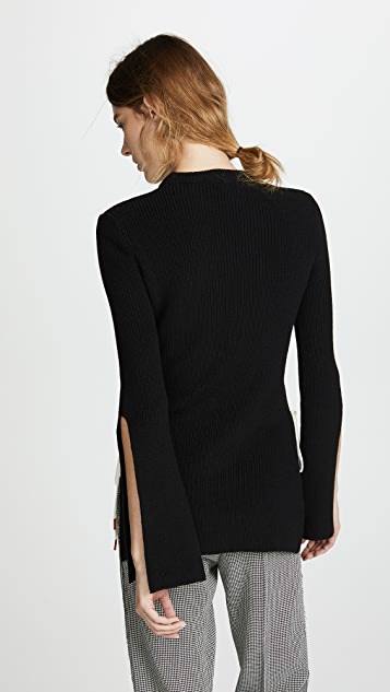 Monse Stitch Detail Sweater