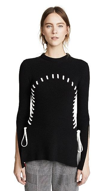 Monse Stitch Detail Sweater