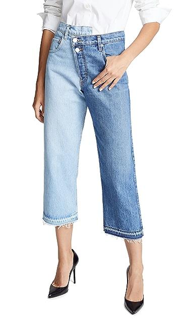 Monse Split Wash Jeans