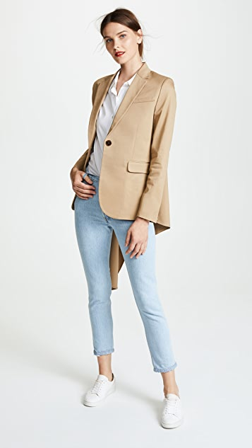 Monse Flare Back Jacket