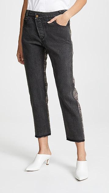 Monse Half & Half Jeans
